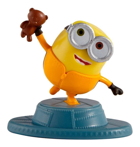 Mini Figura Bob - Minions 2- A Origem De Gru - Mattel