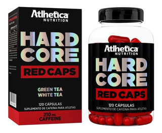 Hardcore Red Caps 120 Cápsulas Termogênico - Atlhetica