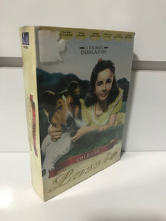 Coleção Lassie - 3 Filmes - Original/lacrado