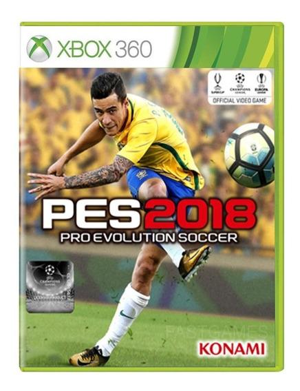 Pro Evolution Soccer 2018 - Pes 18 - Xbox 360 - Usado