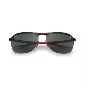 Óculos Rayban 4302m Scuderia Ferrari Masculino Kit Completo