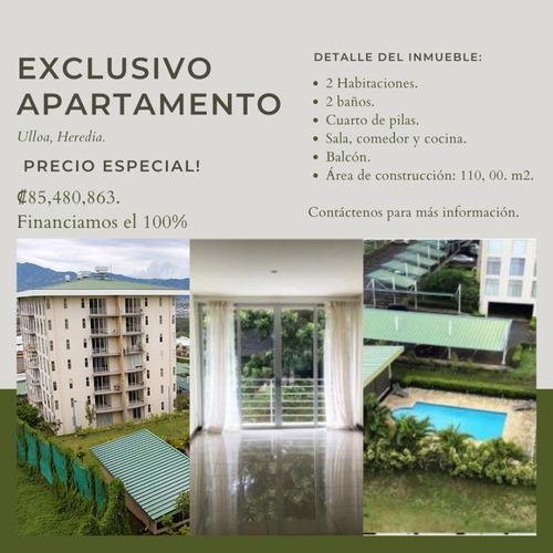 Hermoso Apartamento, En Ciudad De Heredia
