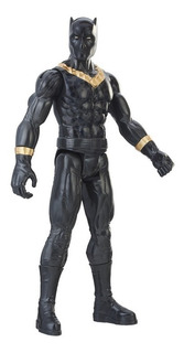 Boneco Marvel 30cm Pantera Negra Erik Killmonger Power Fx