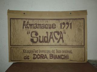 Almanaque De Coleccion Sudaca Dora Bianchi 1991