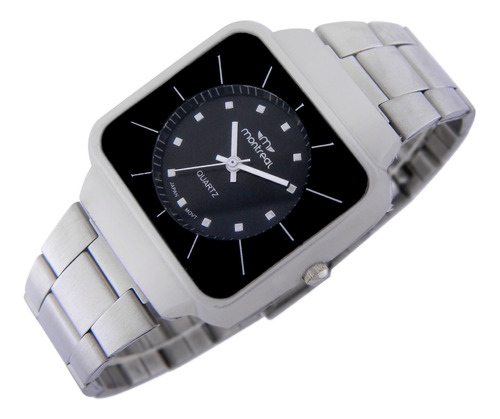 Reloj Montreal Mujer Ml759 Malla Acero Envío Gratis