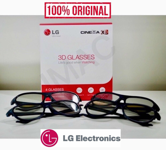 Óculos 3d LG Ag-f310 Kit Óculos Cinema 3d Original Novo