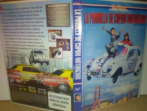 La Pandilla De Cupido Motorizado Dvd Excelente Disney