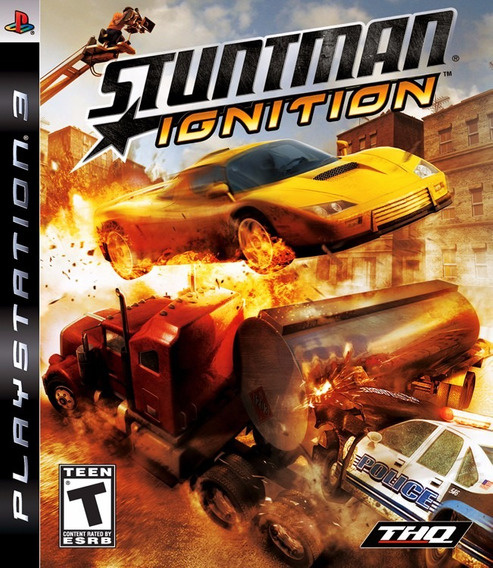 Stuntman Ignition Ps3 Jogo Original - Lacrado Mídia Física