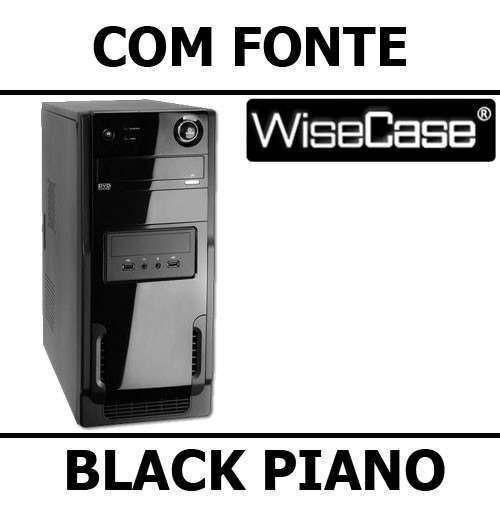 Computador Gabinete Montado Core I3 + 4gb + Hd 500gb + Wi-fi