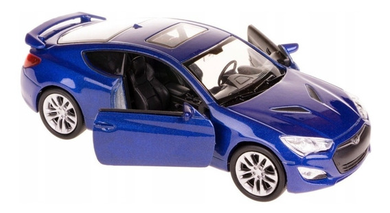 Hyundai Genesis Ii Copue 1/36 Welly Azul Rojo Blanco