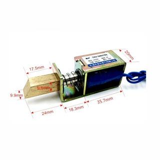Cerradura Solenoide 12 Voltios 1 Amperio 15 Newton 10 Mm