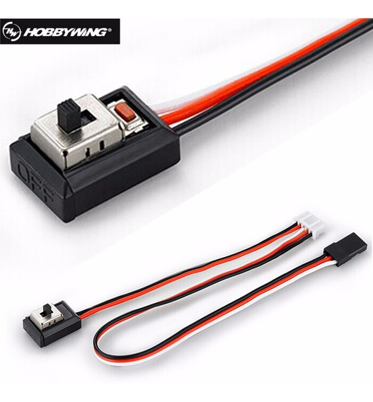 Switch Llave Encendido Hobbywing 1/10 Para Esc Hsp Redcat