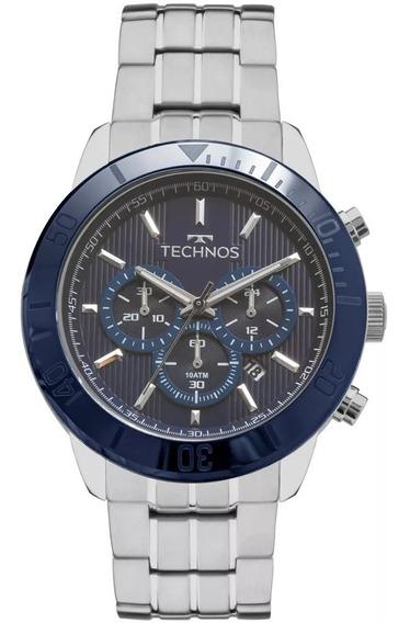 Relógio Technos Masculino Cerâmica Vidro Safira Js25bs/1a