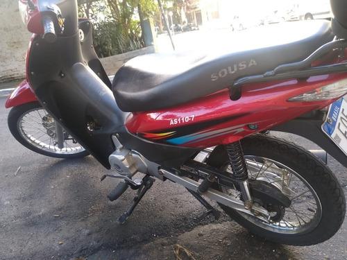 Motocicleta  Marca Souza 110 Cc Semi Nova