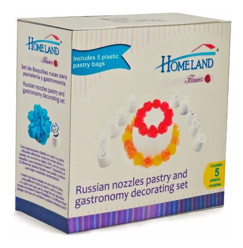 Set Boquillas Rusas Homeland