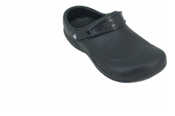 Crocs Bistro Negro Hombre Deporfan