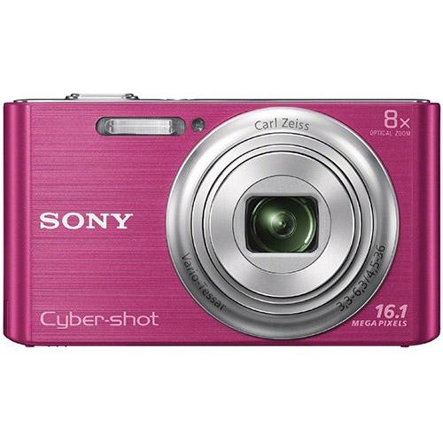 Câmera Digital Sony Cyber-shot Dsc-w730 16.1mp Zoom Óptico
