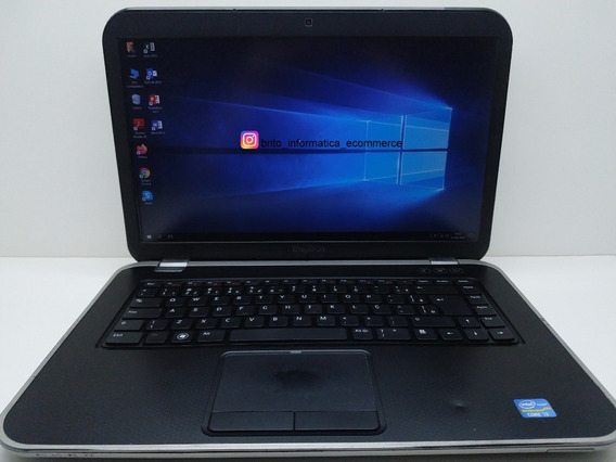 Notebook Dell 7520 Core I3 120gb Ssd 4gb Usado C/vídeo #511
