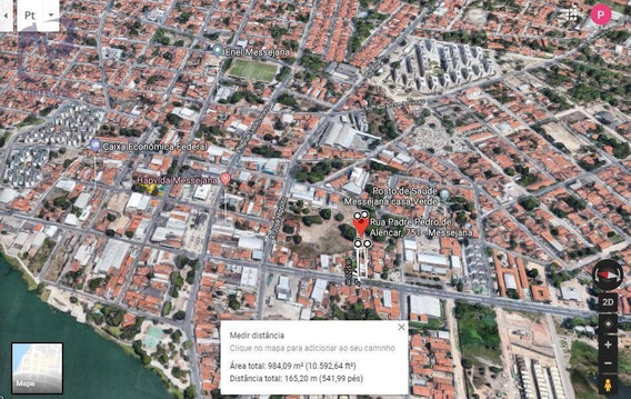 Terreno À Venda, 1018 M² Por R$ 1.300.000,00 - Messejana - Fortaleza/ce - Te0431