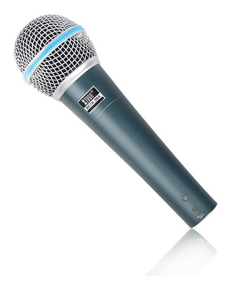 Microfono Alambrico Dinámico Metal Excelente Calidad Beta 58