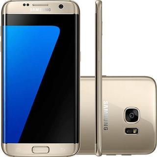 Smartphone Samsung Galaxy S7 Edge 32gb Original 4g C/ Burnin