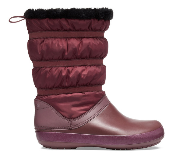 Bota Crocs Crocband Winter Boot Vino