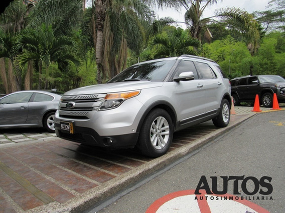Ford Explorer Titanium At Sec 4x4 7puestos Cc3500