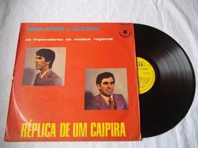 Lp Vinil - Marco Antonio E Julio Cesar Replica De Um Caipira