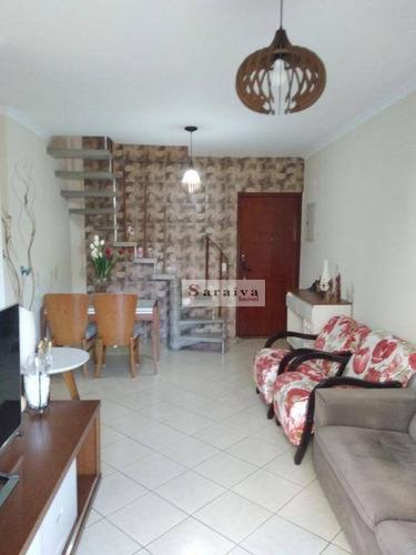 Cobertura À Venda, 140 M² Por R$ 796.000,00 - Jardim Do Mar - São Bernardo Do Campo/sp - Co0221