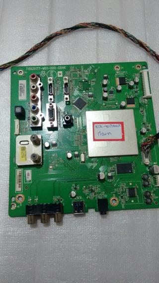 Placa Principal Sony Kdl 40 Bx 455 Original Funcionando