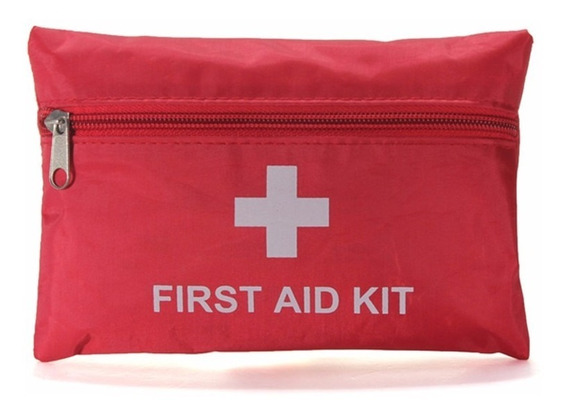 Mini Bolsa Primeiros Socorros Pasta First Aid Kit