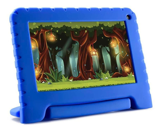 Tablet Kid Pad Lite Multilaser 7 Pol. 8gb Quad Core Azul
