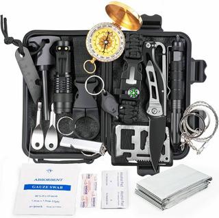 Kit De Sobrevivência De Emergência Multiferramenta 18 Em 1