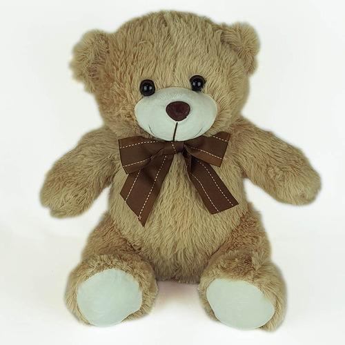 Urso De Pelúcia 35cm Bege