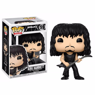 Funko Pop Metallica - Kirk Hammett #59 Original | En Stock!