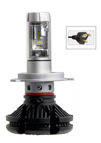 Luz Led X3 H4 Moto/carro Ip67 6000lm/25w Rea Csp Altas/bajas