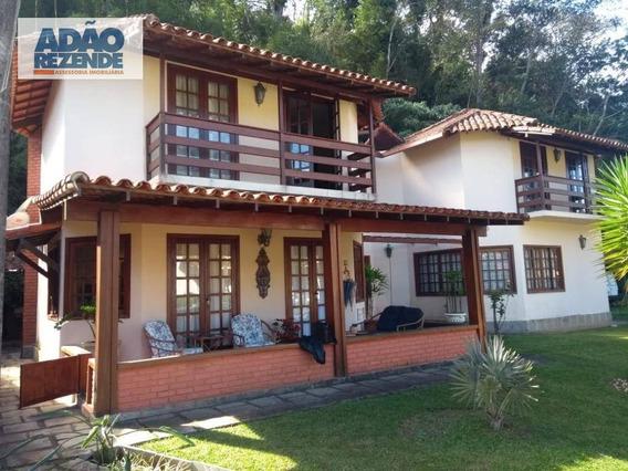 Casa Com 3 Dormitórios À Venda, 200 M² Por R$ 690.000 - Cascata Do Imbuí - Teresópolis/rj - Ca1114