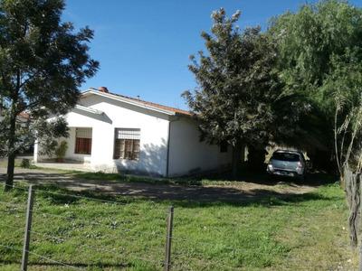Casa Con Terreno En General Alvear Mendoza
