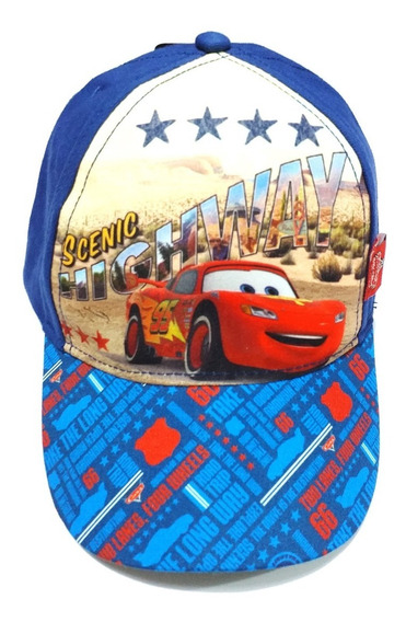 Gorro Cars Con Vicera Disney Footy Rayo Mcqueen Fty Calzados
