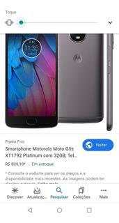 Celular Motorola G5s