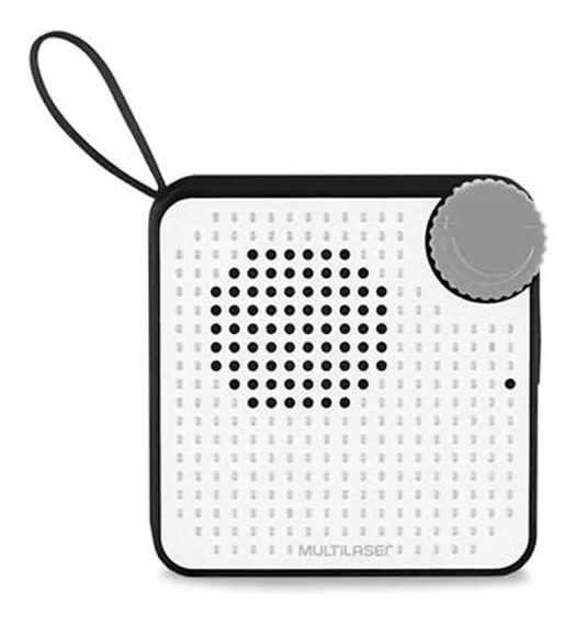 Caixa De Som Mini 5w Bt Preta - Sp309