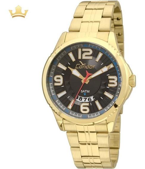 Relógio Condor Masculino Co2115wu/4p Com Nf