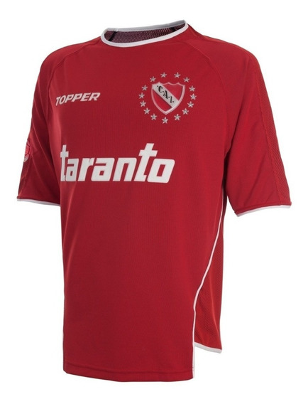 Camiseta Retro De Independiente 2004 Topper Original Taranto