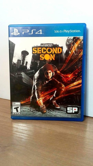 Infamous Second Son Ps4 Usado
