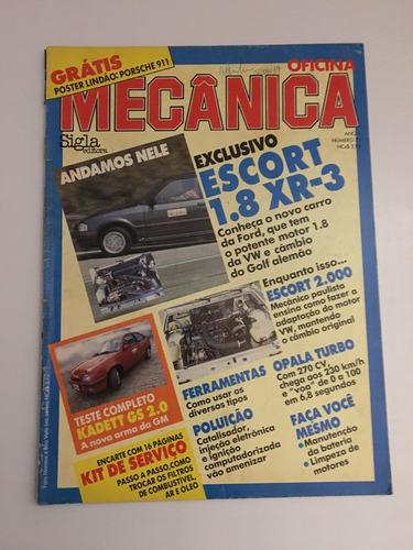 Revista Oficina Mecânica 33 - Porsche 911 Escort Xr3