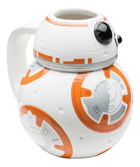 Tazas Star Wars Bb8 Taza Cafe Tarro Ceramica Pintado A Mano