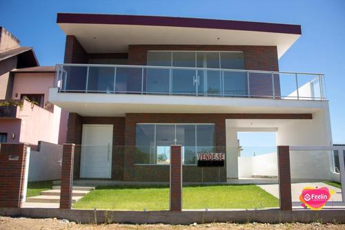 Imagem 1 de 30 de Casa Com 4 Dormitórios À Venda, 249 M² Por R$ 920.000,00 - Carianos - Florianópolis/sc - Sc - Ca0092_feelin