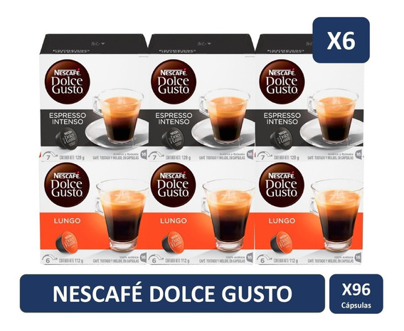 Dolce Gusto Mix Espressos Pack X6 Cajas