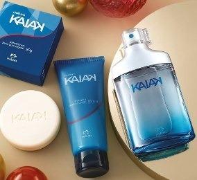 Perfume Kaik Clasico Masculino + Shampoo Y Jabon