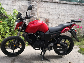 Moto Yamaha Fz16 Chocada